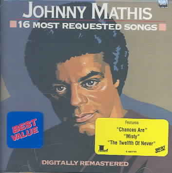 16 MOST REQUESTED SONGS BY MATHIS,JOHNNY (CD)